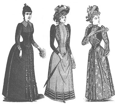 内容は落ちたうえにホームズからも離れてきたのでここで最初の年代学とファッションに関連しての話に戻る事にします。